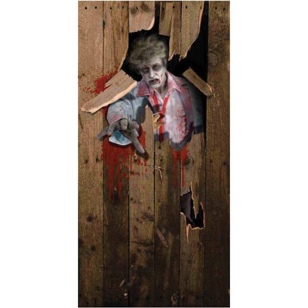 Zombie Door Cover Halloween Decoration for $<!---->