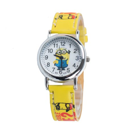 Minions Watch Despicable Me Yellow Boy Girl Children, Watc-413-A