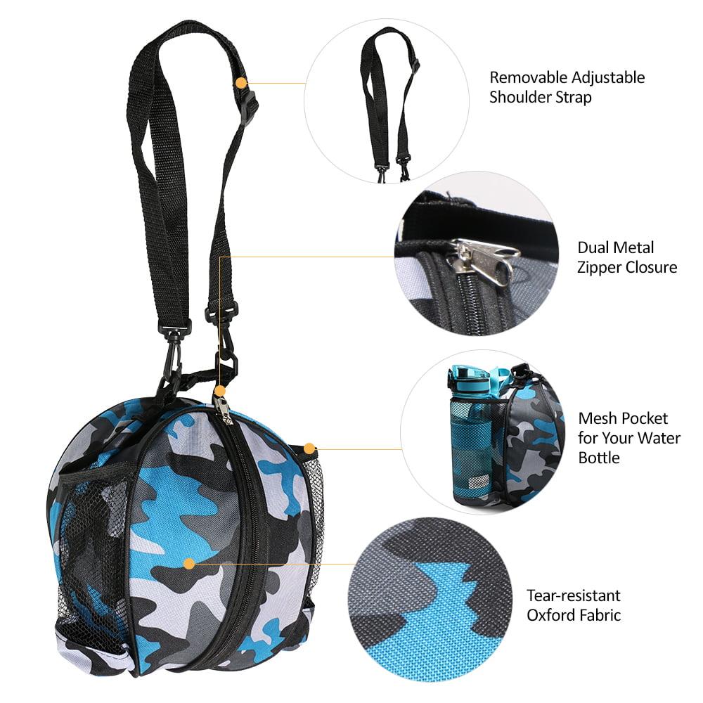 Basketball Shoulder Carrying Bag Sports Bag Removable Adjustable Shoulder Strap For Basketball Football Volleyball Office & School Supplies