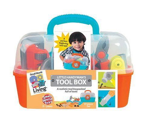 Small World Toys Living Little Handyman's Tool Box 17 Pc. Playset by ORDA USA