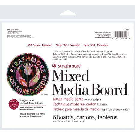 Mix Board - Strathmore Mixed Media Board 500 Series, 8
