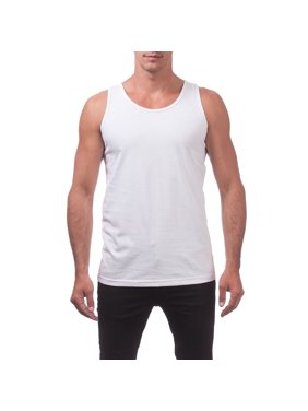 21fb7424c Product Image Pro Club Men's Comfort Cotton Tank Top, Small, Black