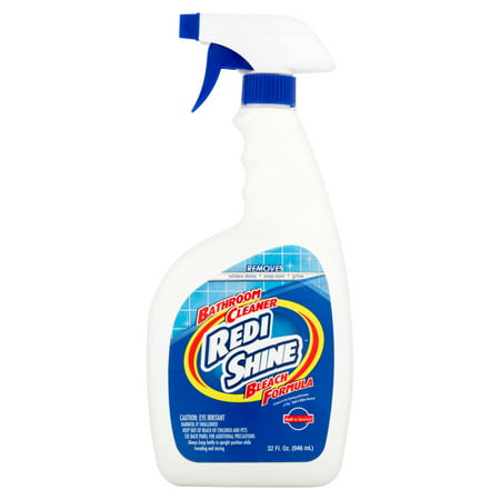 610352000124 Upc Redi Shine Bleach Formula Bathroom Cleaner 32 Fl Oz