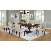 Best Quality Furniture Classic Style 9 Piece Dining Set