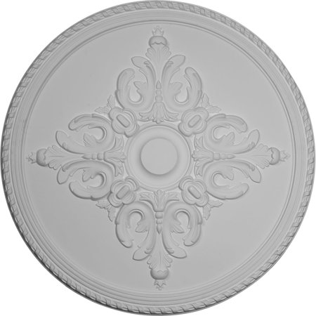 40 5/8u0022OD x 1 3/4u0022P Milton Ceiling Medallion (Fits Canopies up to 7 7/8u0022)