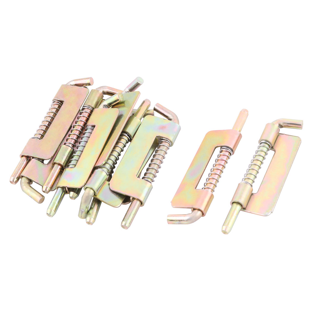 Hotel Stainless Steel Furniture Spring Latch Colorful 2.9 Inch Length 10 Pcs