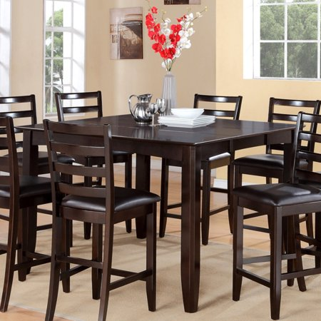 East West Furniture Fairwinds Square Counter Height Dining ...