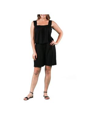 76e01d2f56a Product Image Women s Plus Size Tank and Short Jumpsuit