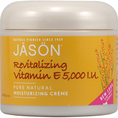 JASON Revitalizing Moisturizing Creme 5,000 IU Vitamin E, 4 Oz