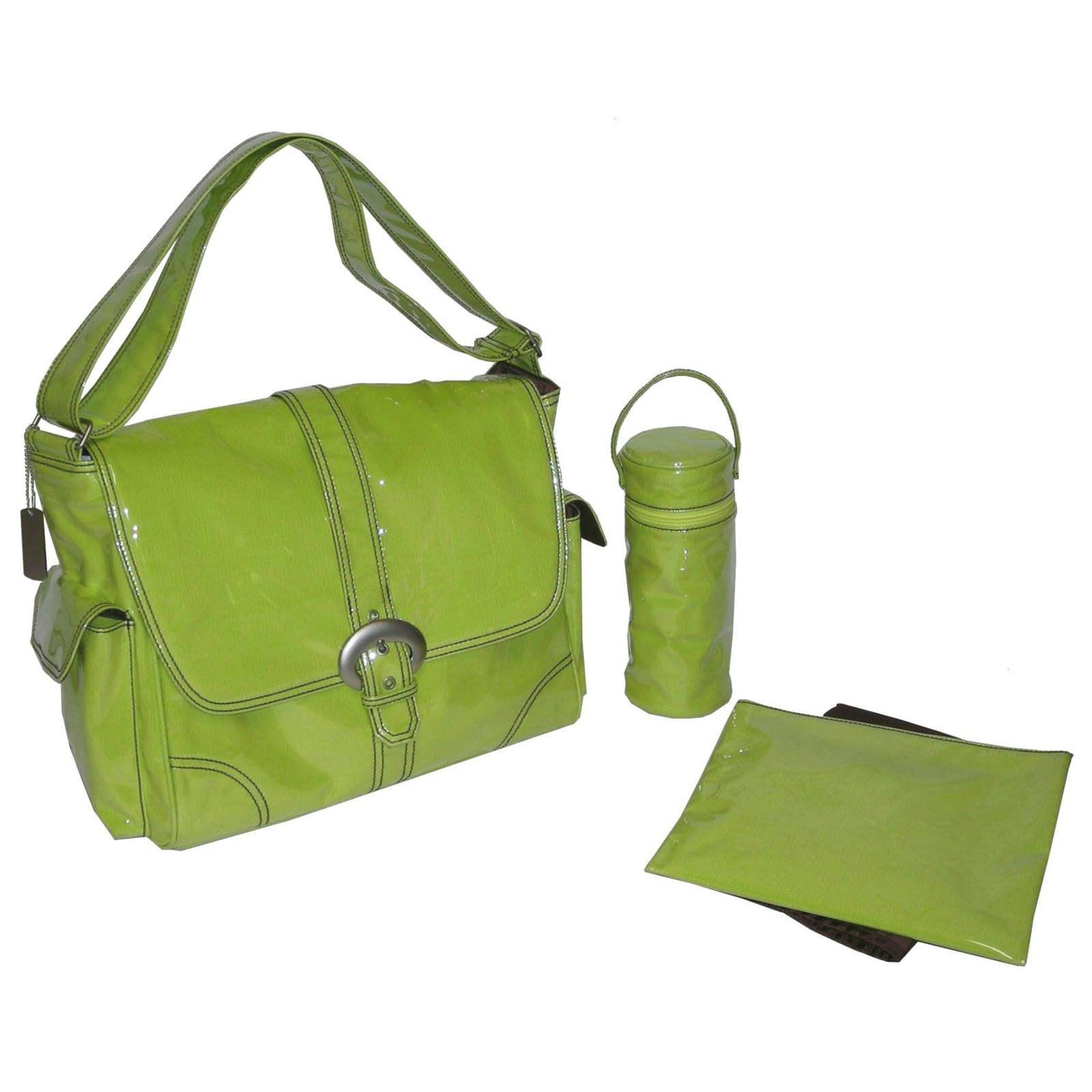 Kalencom Diaper Bag-Kiwi Corduroy Buckle