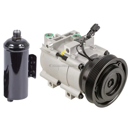 AC Compressor w/ A/C Drier For Hyundai Sonata & Kia Magentis Optima