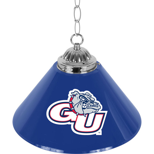 "Gonzaga University Single Shade Bar Lamp, 14"""