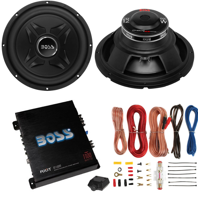 "Boss International 2) Boss CXX12 12"" 2000W Car Audio Powe..."
