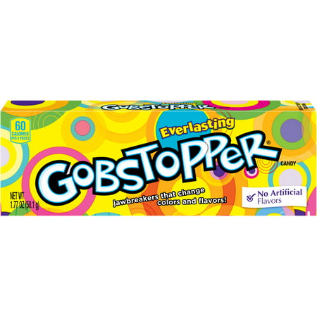 Gobstopper Hard Candy, 1.77oz (Box of 24) (Best Butterscotch Hard Candy)