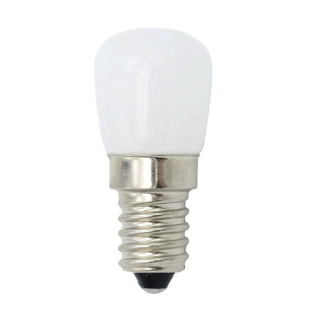 E14 Mini LED Light Bulb 1.5W SES Fridge Freezer LED SMD Lamp Spotlight Bulbs Chandeliers Lighting AC220V (White)