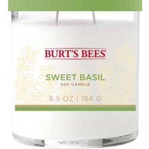 Burt's Bees 6.5 oz Sweet Basil Candle