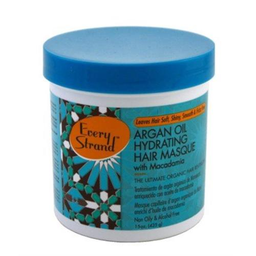 Every Strand  Argan Oil Hydrate Hair Masque, 15 oz (Pack of 2)