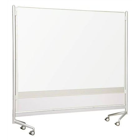 Porcelain D.O.C. Partitions w Laminate (48 in. W x 72 in. H)
