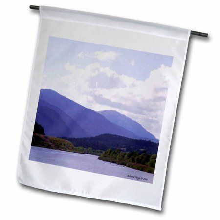 3dRose Smoky Mountain Range - Garden Flag, 12 by 18-inch ()