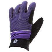 Sessions Dazed Gloves Purple Mini Stripe Mens
