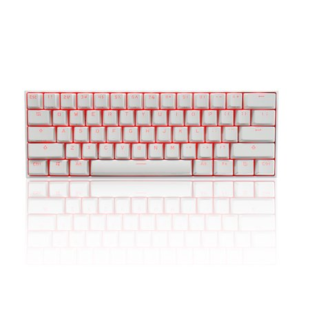 Anne Pro 2 Compact Size Wireless Mechanical Gaming Keyboard 2019 -[Customizable Chroma RGB Lighting][Gateron Brown Mechanical Switches - Tactile &
