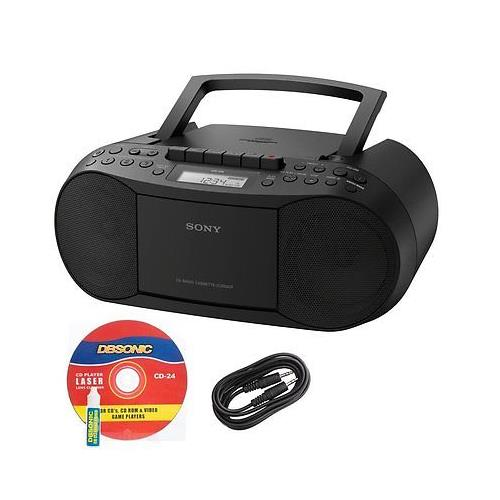 Sony Portable Stereo Boombox with MP3 CD Player, AM/FM Ra...