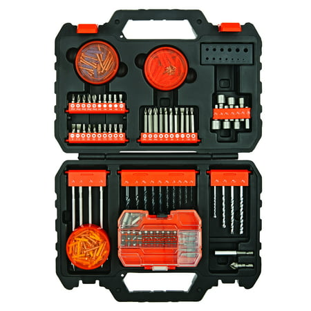 BLACK+DECKER 250-Piece Complete Project Accessory Set, BDA90250CC
