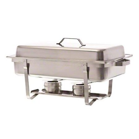Update International 8 Qt Oblong Stackable Chafer with Lid