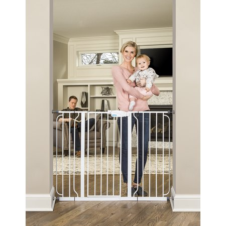 Regalo Extra Tall Extra Wide Baby Gate 29 52 With Walk Through