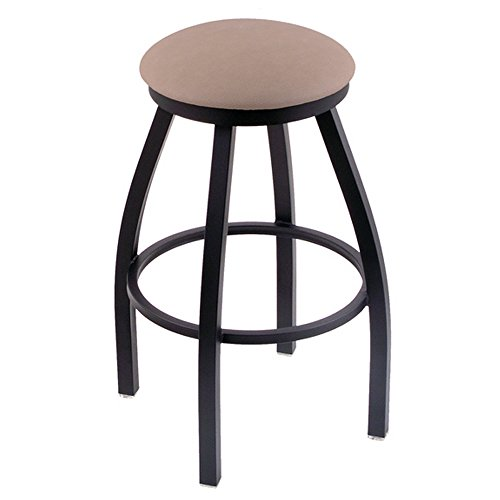 "XL 802 Misha 30"" Bar Stool w  Black Base Finish Rein Thatch Seat by Holland Bar Stool Co"