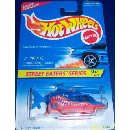 Hot Choppers - Hotwheels Street Eater Series #3 Propper Chopper, Collectible By Hot Wheels