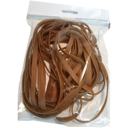 PlasticMill 30 Inch Rubber Bands for 75-100 Gallon Garbage Cans, 25 Per Pack ()