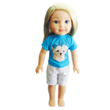 My Brittany's Maltese Dog Outfit For Wellie Wisher Dolls