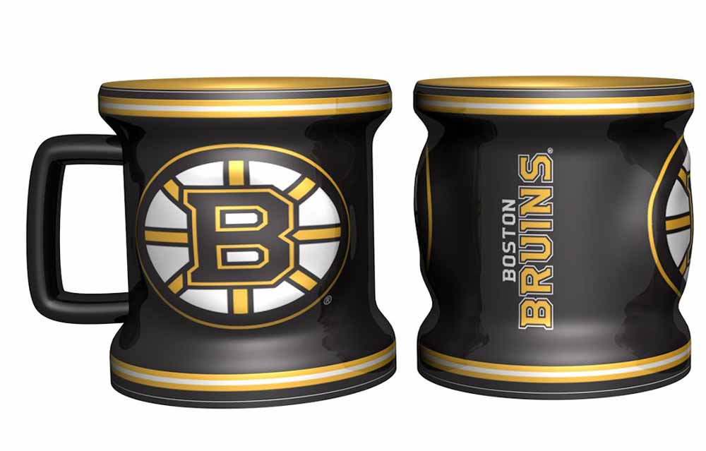 Boston Bruins Shot Glass Sculpted Mini Mug by Boelter Brands
