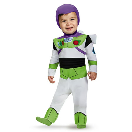 Buzz Lightyear Deluxe Infant Halloween Costume