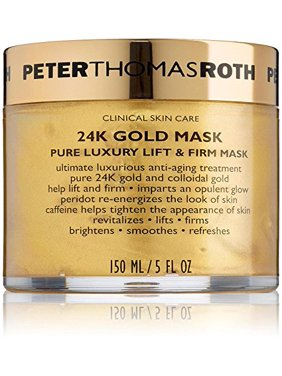 ($80 Value) Peter Thomas Roth 24K Gold Mask Pure Luxury Lift & Firm Face Mask, 5 Oz