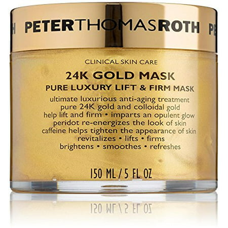 Golden Mask - Peter Thomas Roth 24K Gold Pure Luxury Lift & Firm Face Mask, 5 Oz