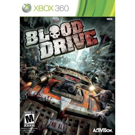 Blood Drive, Activision Blizzard, XBOX 360, 047875764552 Bloody Video Games