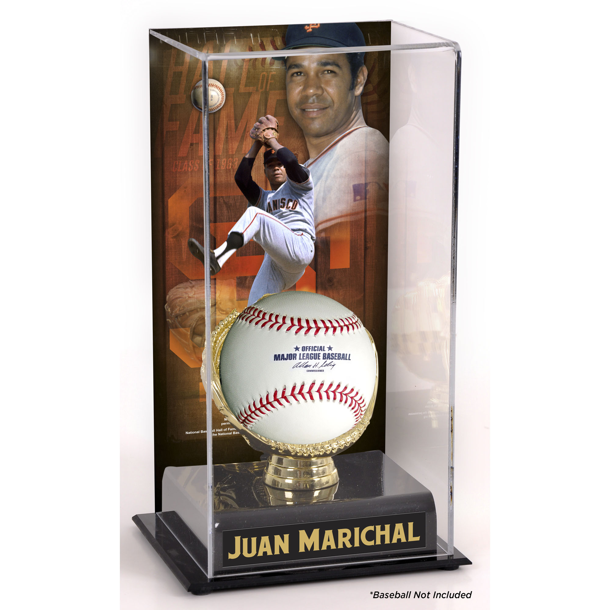 Juan Marichal San Francisco Giants Fanatics Authentic Hall of Fame Sublimated Display Case with Image - No Size