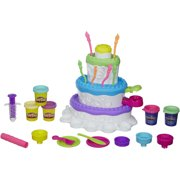Play-Doh Sweet Shoppe Cake Mountain Food Set with 5 Cans of Dough
