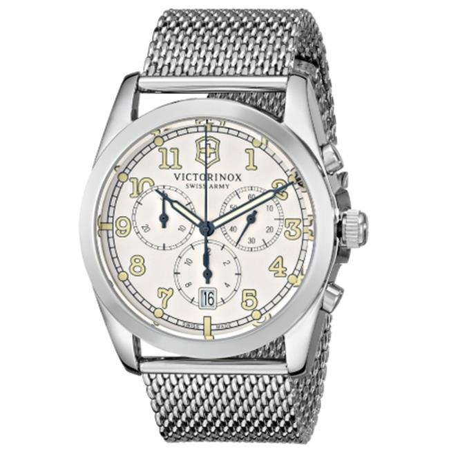 Swiss Army SD-249066 Victorinox Infantry Chronograph Unisex Watch - White Dial