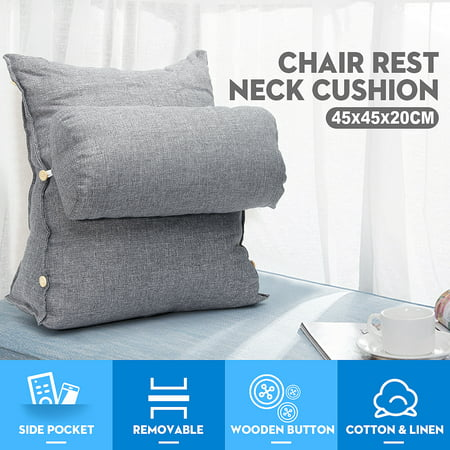 Edge Pillow - Adjustable Back W edge Cushion Pillow Sofa Bed Office Chair Rest Neck Support