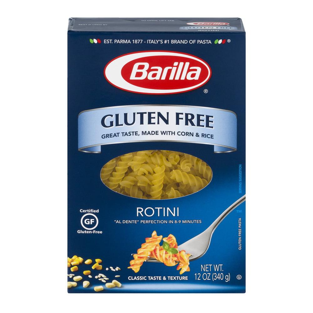 Barilla Gluten Free Pasta Rotini, 12.0 OZ by Barilla America