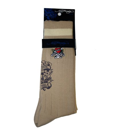 Ed Hardy Love Kill Slowly Men's Crew Socks Love Kills Slowly Belt