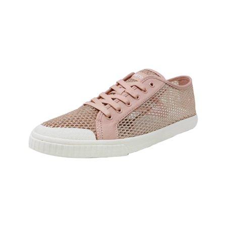Bloch Glitter Shoes (Tretorn Women's Tournet 4 Glitter Mesh Blush Multi / White Ankle-High Fashion Sneaker -)
