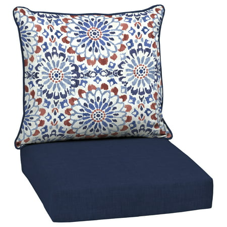Arden Selections Clark 46.5 x 24 in. Outdoor Deep Seat Cushion Set ()
