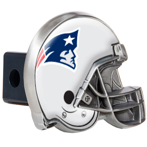 Great American Products New England Patriots Helmet Trailer Hitch Cover Helmet Trailer Hitch Cover