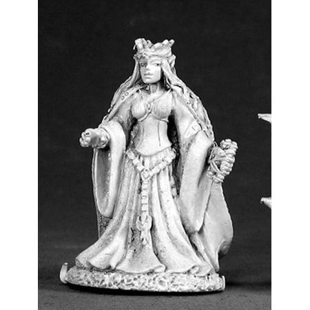 Reaper Miniatures Queen of High Elves 02582 Dark Heaven Legends Unpainted Metal (Dark Elf Reaper)
