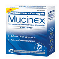 Mucinex Expectorant Maximum Strength 1200 Mg, Tablets - 28 Ea, 3 Pack