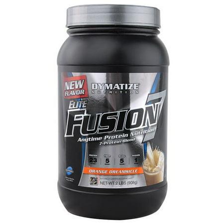 Dymatize Elite Fusion 7 Protein Powder, Orange Dreamsicle, 2 Lb